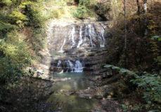 Хребет Пикет и Змейковские водопады