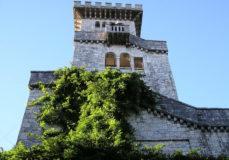 Видовая башня на горе Большой Ахун