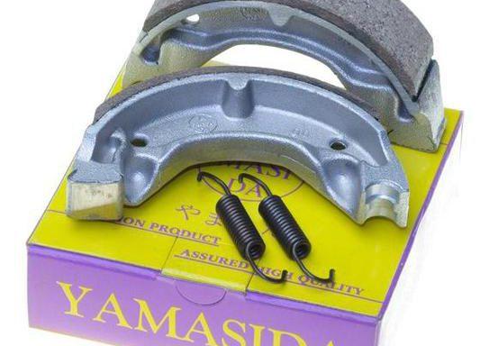 Колодки для скутера Suzuki AD50 Yamasida TW